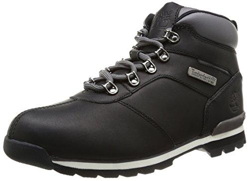 Timberland Herren Splitrock 2 Chukka Boots, Schwarz (Black Smooth), 46 EU