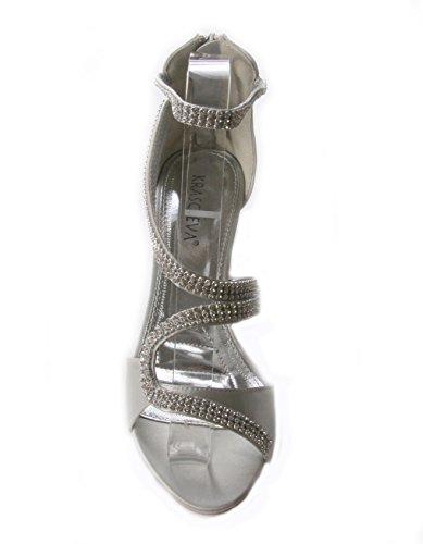 Mojushu , Bride de cheville femme silver
