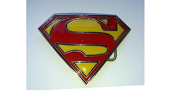 53a5339f4981 Choppershop Superman Classic Symbol Métal Boucle de Ceinture  Amazon.fr   Auto et Moto