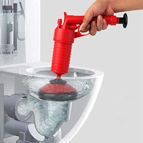 Air Power Drain Blaster Gun Hochdruck Leistungsstarke Manuelle Sink Plunger Opener Reiniger Pumpe Für Bad Toiletten Bad Küche -