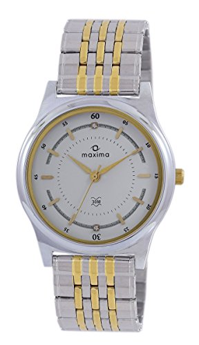 Maxima 43282CMGT GOLD Analog Watch For Unisex