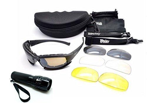 new-daisy-x7-polaris-militaire-tactique-sport-army-eyewear-lunettes-de-plein-air-4-lentilles-lunette