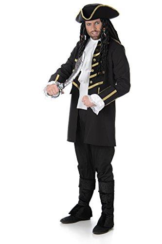 Generique - Piraten Kapitäns Kostüm für Herren -