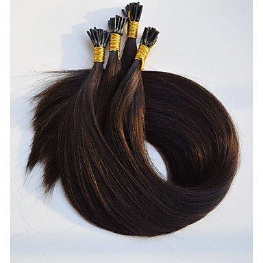 MZP Les extensions de cheveux doubles à deux couleurs colorées # 530 prennent soin des extensions de cheveux humains , 50 strands/pack