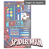 Sambro Spiderman Estuche Color Rojo SPE-4219