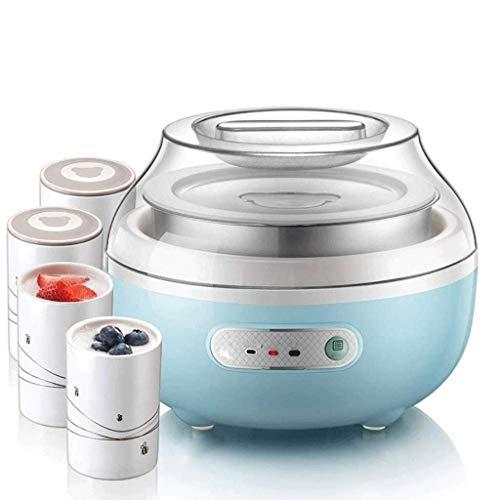 Marceooselm Beweglicher Haupt Automatische Multi-Funktions-Mini Selbst gemachte Keramik Cup Edelstahl-Joghurt-Maschine, Make Frische Hausgemachte Joghurt in Ihrer eigenen Küche