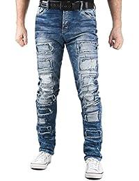 Cipo & Baxx - Jeans - Homme Bleu bleu W30/L34