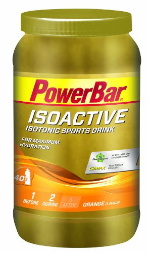 Powerbar Isotonic Sports Drink - 1,320 g x 1 Jar, Orange