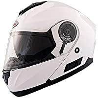 Shiro Casco SH-507 Blanco Talla M