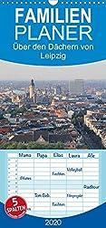 Über den Dächern von Leipzig - Familienplaner hoch (Wandkalender 2020, 21 cm x 45 cm, hoch)
