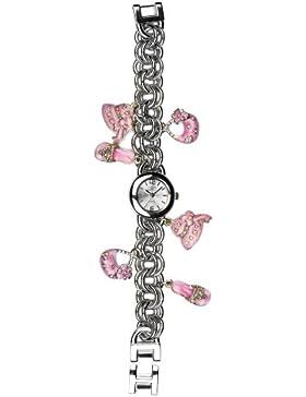Eton Damen-Armbanduhr Analog silber 2945L-PK