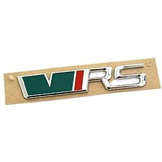Skoda 1Z0853687AHLAQ Schriftzug RS hinten VRS Emblem Zeichen Logo Heckklappe