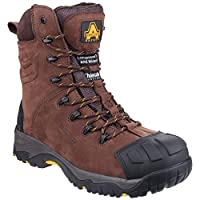 Amblers Safety AS995 Pillar Mens Leather Waterproof Safety Boots Brown