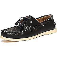 Bellfield Boat Shoes - Tassel Deck Shoes - PU - Mens
