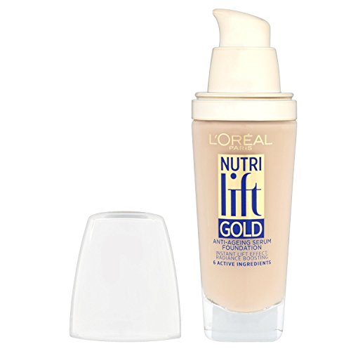 L'Oreal Paris Nutri Lift Foundation - 25 ml, Warm Ivory (Number 130)