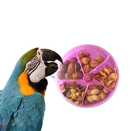 PerGrate Papageien Feeder Pet Vogelfutter Box Papagei Fütterung Spielzeugkäfig Montiert Kauen Box