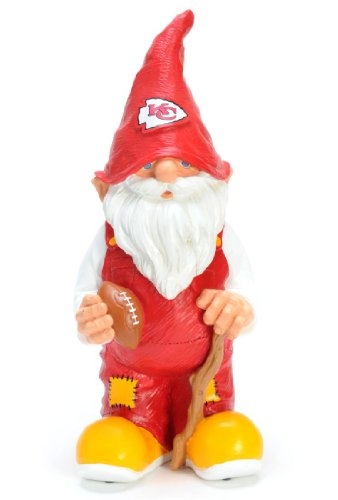 Caseys Verteilen 8132972906 Kansas City Chiefs Garden Gnome 11 in. ()