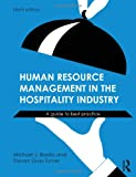 Human Resource Management in the Hospitality Industry: An Introductory Guide