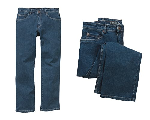 STOOKER Frisco Stretch - Blue Stone   Blau Männer Jeans, Länge L32,  Hosengröße fb22847121