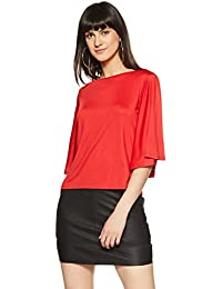 AND Women's Plain Regular Fit Top