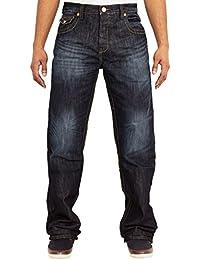 Designer Mens APT Plaine de jeans bootcut- UK Tailles