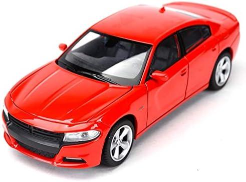 XINGPING-TOY 1: 24 Dodge Dodge Dodge Warrior Challenger Voiture de Voiture US Muscle Car Modèle de Voiture en Alliage de Simulation Statique (Couleur : Red) | De Haute Qualité Et De Bas Frais Généraux  0cccb7