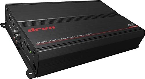 JVC KS-DR3004 Amplificatore per Auto, 4 Canali, Nero