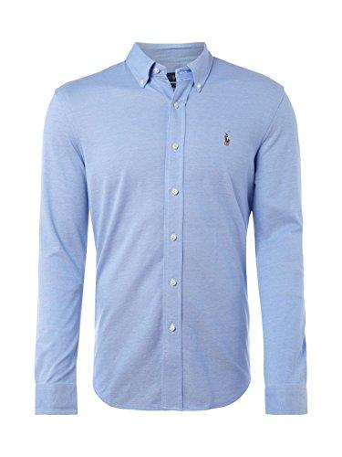 Polo Ralph Lauren Herren Freizeithemd Sl Bd Ppc Sp-LO Bsr, Blau (Blue A490J), Small