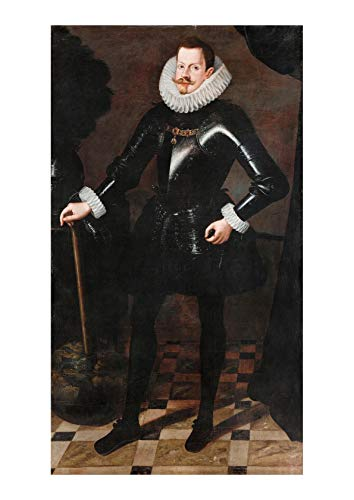 Spiffing Prints Andres Lopez Polanco - Philip III of Spain 1578 – 1621 - Small - Matte - Unframed