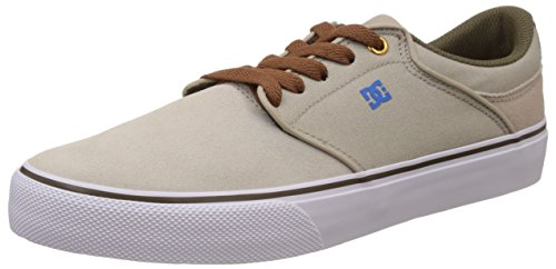 DC Shoes Mikey Taylor Vulc, Sneaker Basse Uomo Beige