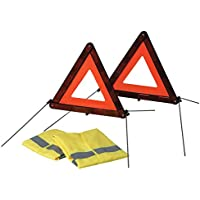 2707125 WARNING TRIANGLE/HI VIS JACKET SET