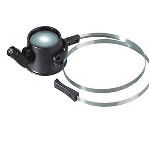 Vergrößerungsglas Tragen Einer Brille Typ 15-mal Lupe Reparatur Lupe Strap LED High-Definition-monokularen Handy-Reparatur