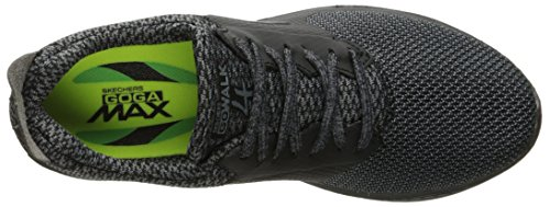 Skechers Ladies Go Walk 4-sustain Instructor Black (nero / Grigio)