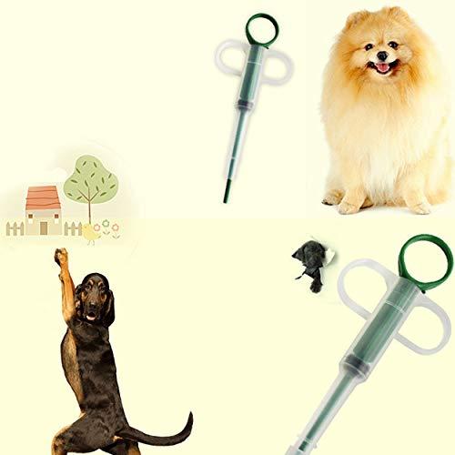 41cMuAtysDL - Lorenlli Inicio Aguja Tipo Pastillas Dispensador Alimentar Medicamentos Cat'S Perros Mascotas Tableta Universal Alimentador de medicamentos Aplicador