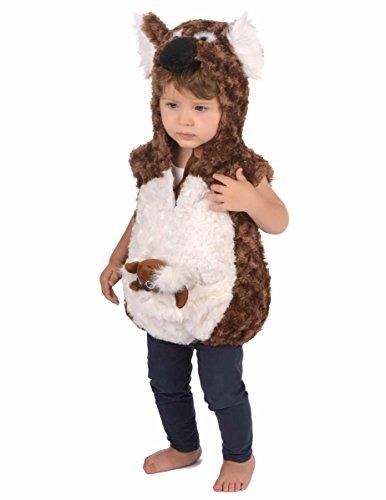 Generique Weiches Koala Kostüm für Kinder 86/92 (18-24 Monate)