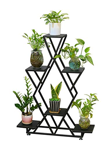 Multi-positionierung Stander (Eisen Blume Ständer Rack Wohnzimmer Boden Multi-Layer-Dekoration Startseite Grünpflanze Hängende Orchidee Zimmerpflanze Topfpflanze Regal, keine Notwendigkeit zum Punsch)
