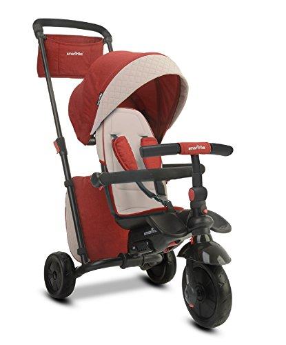 SMARTRIKE- Tricycle évolutif Pliant smarTfold 600, 510-0500, Rot