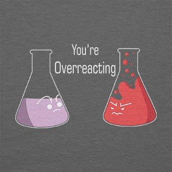 TEXLAB - You're Overreacting - Herren T-Shirt Grau