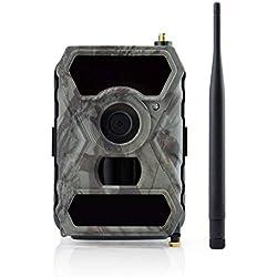 Trail Jeu caméra Automatique MMS Protection des Animaux Sauvages Infrarouge 1080P 15FPS HD Surveillance Chasse caméra Wildlife Monitor, détection de Mouvement Infrarouge