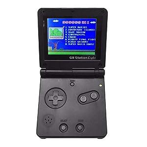 DZSF Boy SP PVP Handspiel-Spieler 8 Bit / 32 Bit Klassisch Flip Video Console 3-Zoll-LCD-Retro Style Für Gaming GBA SP NES FC PVP