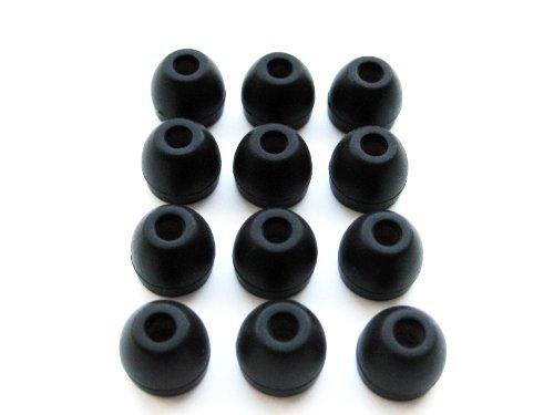 Schwarz Ersatz Eartips Small (hochwertig, für iPhone, In-Ear-Kopfhörer, mit Fernbedienung und Mikrofon, MA850G, A, B