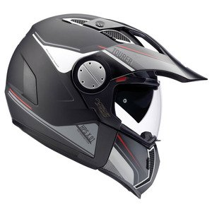GIVI HX01DN90061 Hps X01D Integral Casco Tourer, Color Negro Mate, Talla 61/XL