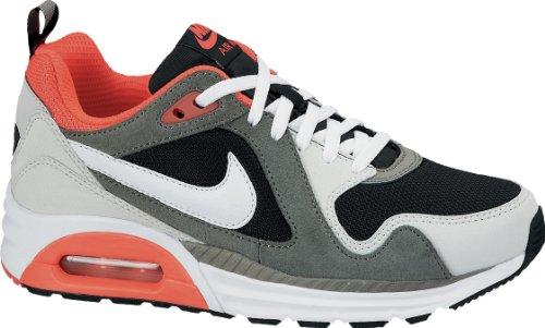 Nike Air Max Trax (GS), Kinderschuh, grau/schwarz/weiß/rot - 5.5Y (Herren Max Air 2014 Weiß Nike)