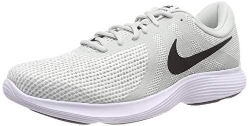 Nike Herren Revolution 4 EU Laufschuhe, Mehrfarbig (Light Silver/Black/Sail/White 019), 44.5 EU Light Herren Schuhe