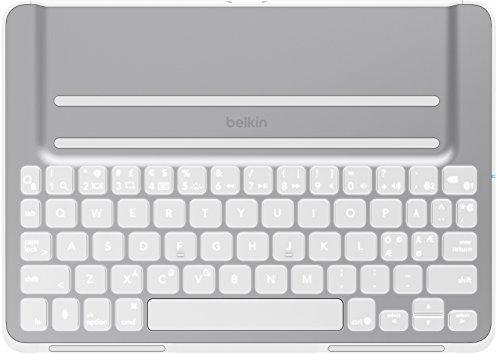 Belkin QODE Ultimate Pro Tastatur für das iPad Air, weiß (Ipad Air Tastatur-hülle Belkin)