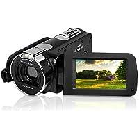 Videokamera DigitalCamcorder, 2,7-Zoll-Bildschirm, 1080P HD-Videokamera, 24-Megapixel-Digitalkamera mit 270-Grad-Drehbildschirm, Kamera mit 16-fachem Digitalzoom.