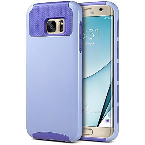 Carcasa S7 Edge, ULAK Galaxy S7 Edge Funda Case doble capa del Silicona de alta Resistencia del Carcasa de Shell para Samsung Galaxy S7 Edge