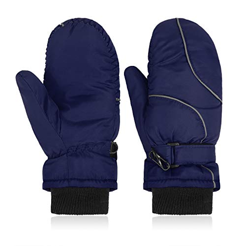 Kinder Dynamic Faust Handschuhe Einheitsgröße OneSize Wasserdicht Reflektoren
