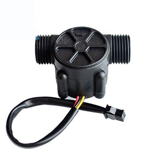 DollaTek YF-S201 1-30L / min Wasserfluss Hall Counter/Sensor Wasserkontrolle Wasser Durchflussrate Durchflussmesser Durchflussmesser Zähler -