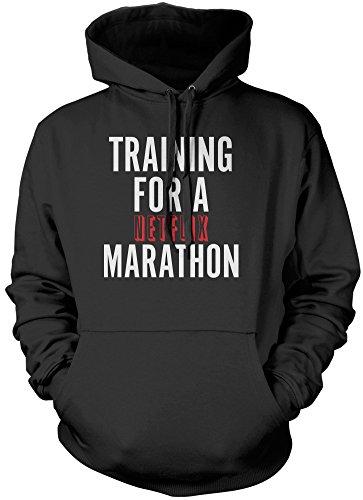 formazione-per-una-maratona-netflix-unisex-felpa-con-cappuccio-black-large